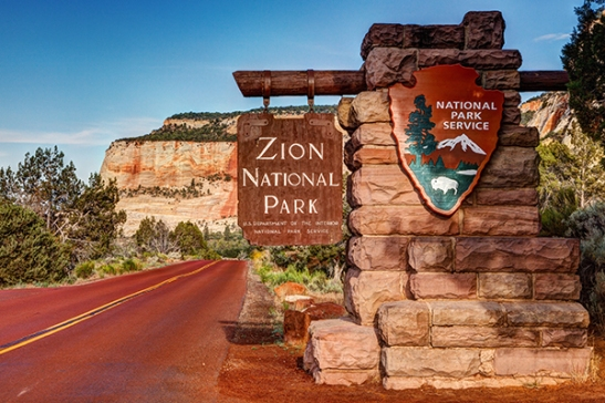 ZionNationalParkEntrance