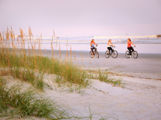 beach-biking